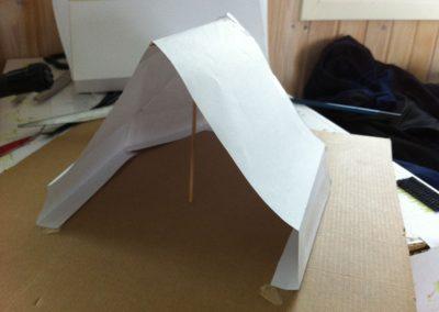 Hawun kevytmajoitetta lähdettiin aluksi kehittämään paperimalleilla