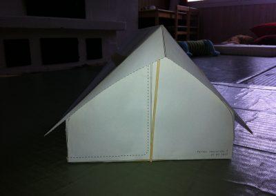 Ajatus uudenlaisesta Hawuteltasta lähti liikkeelle partiolaisten paljon käyttämästä Niger-teltasta. Halusimme kehittää siiitä nykyaikaisemman ja paremman version.