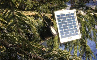 Miten tuottaa sähköä metsään?